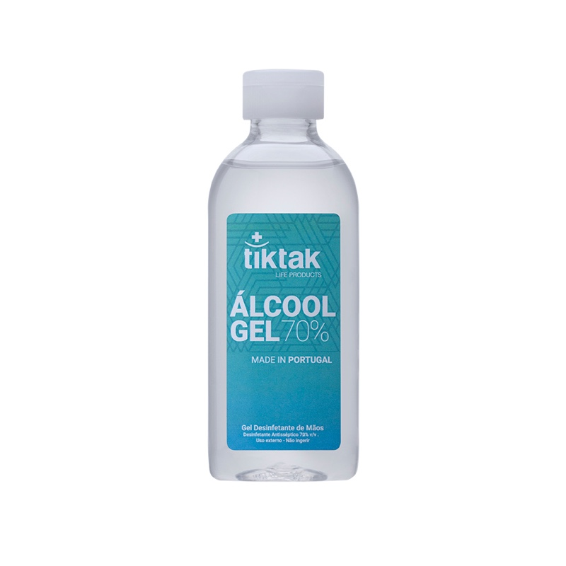 Álcool Gel 70% TIKTAK 100ML
